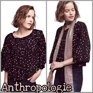 Anthropologie | Everafter Bell Sleeve Blouse SZ XL